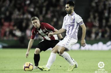 Imagen del encuentro entre el Athletic Club y Real Valladolid | LaLiga