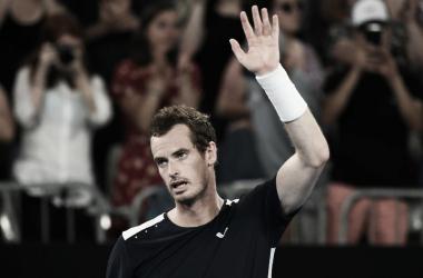 Andy Murray se despide del Open de Australia // FUENTE: Australian Open