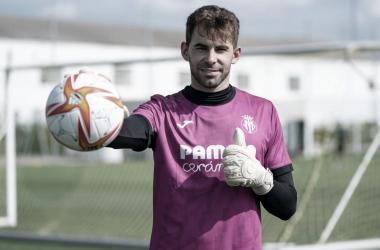 Gianni Cassaro, nuevo fichaje del Villarreal B. | Imagen: villarrealcf.es
