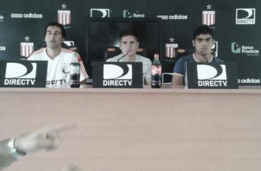 Gil y Delgado, las dos caras nuevas del Pincha.   Foto: @EdelPOficial