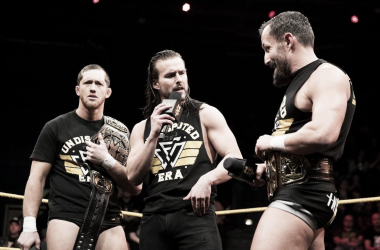 The Undisputed Era durante una promo. Foto: WWE.com