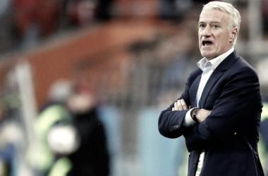 En la fotografía, el técnico del equipo francés, Ddier Deschamps // Fuente: Selección de Francia