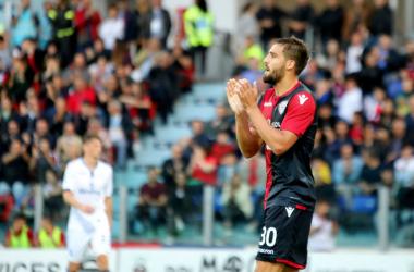 Serie A - Ceppitelli nel finale firma l'1-0: il Cagliari resta in A, l'Atalanta è settima e in E.League