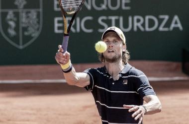 Seppi en su primer partido en Ginebra ante Cecchinato. Foto: ATP