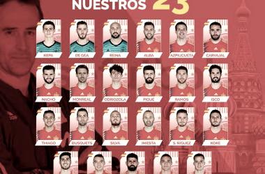Variedad pujante en la Selección Española