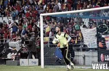 """David de Gea: """"Es raro estar sin Casillas"""""""