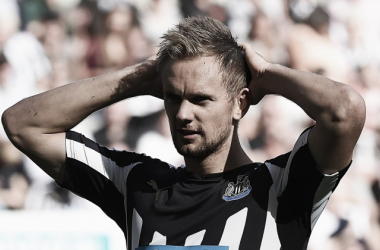 De Jong reflects on his time at Newcastle (Photo credit: The Guardian)