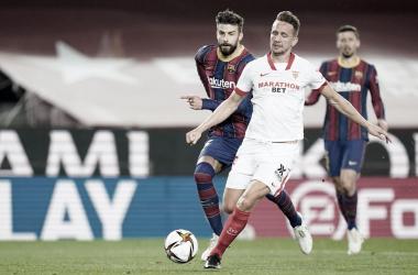 El Barça somete al Sevilla en Copa