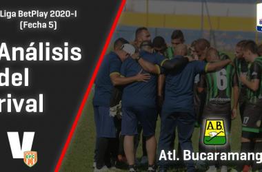 Envigado F.C., análisis del rival: Atlético Bucaramanga