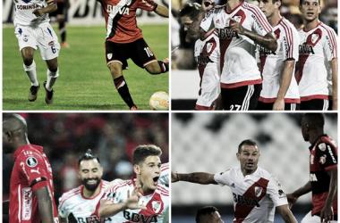 Un empate, una derrota y dos triunfos en los últimos debuts coperos (Fotomontaje).