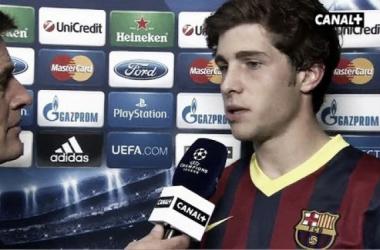 """Sergi Roberto: """"Nunca hemos tenido dudas sobre nuestro juego"""""""