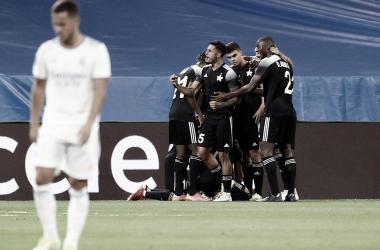 Los jugadores del Madrid declararon tras la histórica derrota | Foto: UEFA