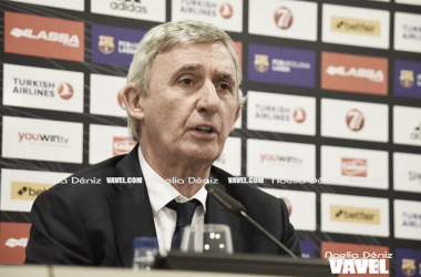"""Svetislav Pesic: """" Jugamos en nuestra casa y necesitamos una victoria para intentar acabar lo más arriba posible en la liga regular"""""""
