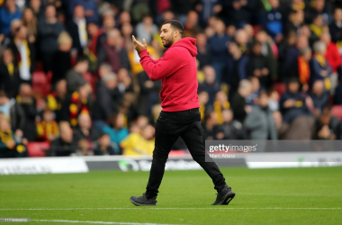 Troy Deeney's absence is becoming ever-more conspicuous at Watford | Photo by Getty Images/Marc Atkins