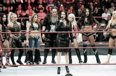 Las mujeres siguen haciendo historia en WWE. | Foto: WWE