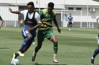 Defensa y Justicia y Godoy Cruz empataron 2 a 2 en el primer amistoso. Foto: Godoy Cruz.