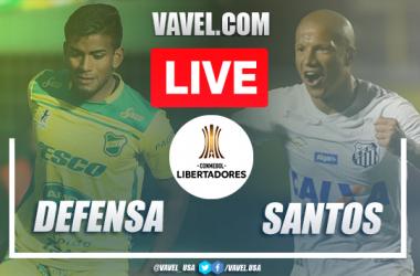 Goals and Highlights: Defensa y Justicia 1-2 Santos, 2020 Copa Libertadores