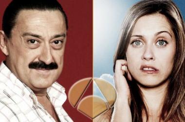 Mariano Peña y María León, dos de los protagonistas de la nueva serie. (Foto: vertele)