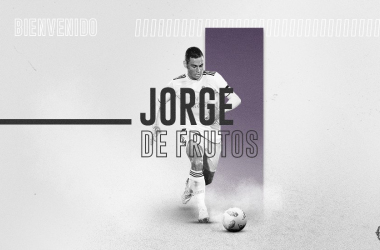 Jorge De Frutos, cedido al Real Valladolid   Real Valladolid