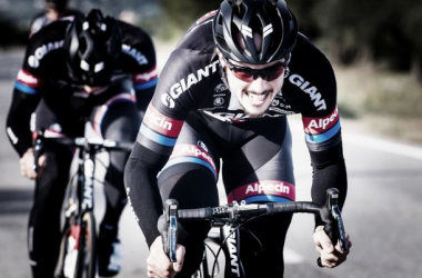 John Degenkolb holds the race lead going into the final stage. (Image: Road Cycling UK)