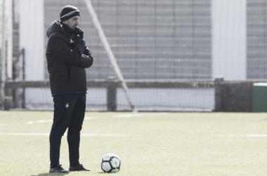 """Diego Martínez: """"Vamos con la ambición y autoconfianza de que podemos lograr los tres puntos"""""""
