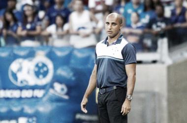 Cruzeiro, do técnico Deivid, manteve invencibilidade no Campeonato Mineiro (Foto: Washington Alves/Light Press)
