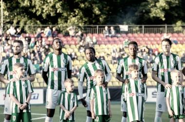Lo Zalgiris, carnefice del Ludogorets nel match d'andata. Foto: Zalgiris twitter