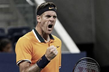 Del Potro arrancó con victoria en el US Open