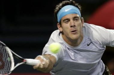 Del Potro reapareció en el circuito tras caer en segunda ronda del US Open.