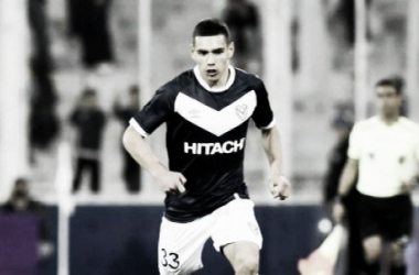 El joven futbolista vestirá la celeste y blanca. Foto: Vélez Sarsfield Página Oficial.