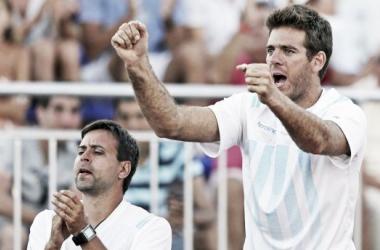 """Del Potro: """"Quiero jugar la Copa Davis"""""""