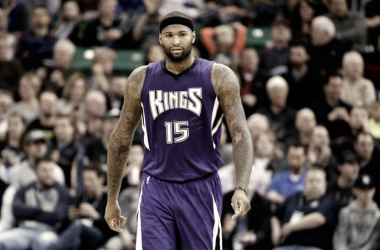 DeMarcus Cousins is a Sacramento King no more. Photo: Jeff Swinger/USA-TODAY Sports