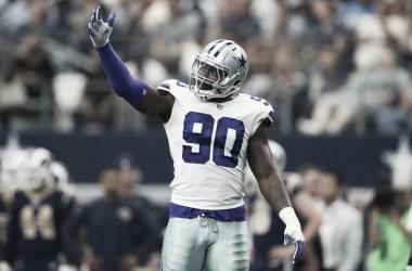 Demarcus Lawrece fue etiquetado como jugador franquicia (foto Dallas Cowboys)