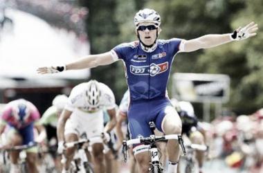 C'est sa première victoire sur l'épreuve belgo-néerlandaise. (BAS CZERWINSKI/MAXPPP)