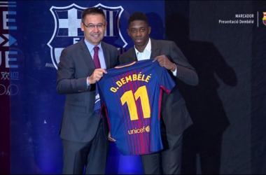 FC Barcelone : La pépite Dembélé