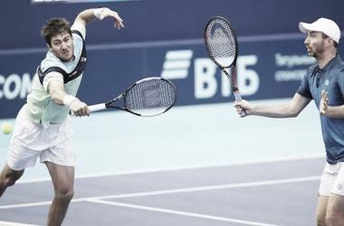 Brasil nas duplas: Demoliner e Marcelo Melo são vice em São Petersburgo e Colônia