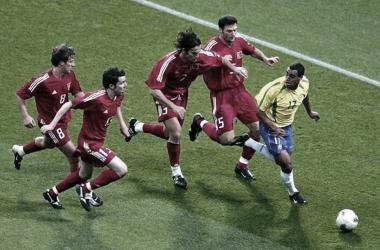 Denílson relembra histórias da Seleção nas Copas de 1998 e 2002