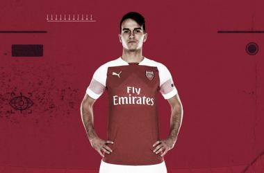 Denis Suárez con la camiseta del Arsenal | Fotografía: Arsenal