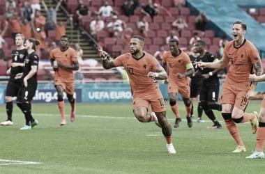Puntuaciones Países Bajos - Austria Eurocopa 2020