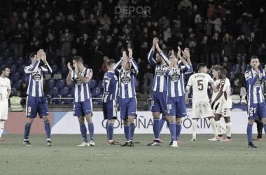 El Deportivo recibe la ovación de Riazor // RCDeportivo