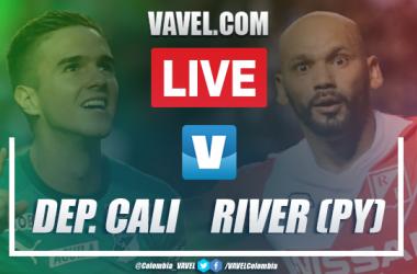 Resumen y Goles Cali vs. River Plate (2-1)