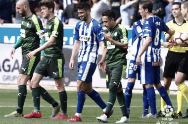 Imagen del Deportivo Alavés SD Eibar de la J27 de La Liga Santander (FOTO://LaLiga)