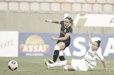 Corinthians empata com Palmeiras e avança para final do Paulistão Feminino
