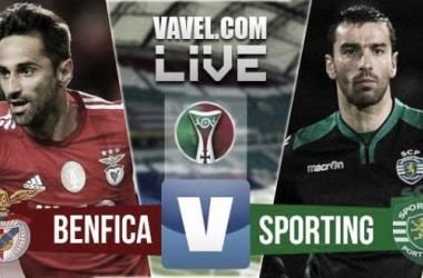Resultado Benfica x Sporting na Supertaça 2015 (0-1)