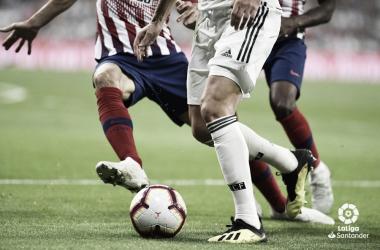 Por sexto año sin consecutivo, el Atleti no pierde en el Bernabéu en Liga. Fuente: LaLiga