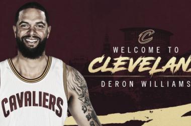 Il benvenuto di Cleveland a D-Will. | Fonte immagine: Twitter @cavs