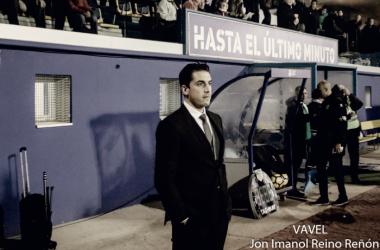 """Julio Velázquez: """"El árbitro ha condicionado totalmente el partido"""""""