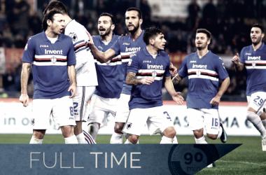 Resumen Roma 0-1 Sampdoria: Zapata asesta otro golpe a la Roma