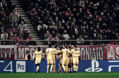 La Juve consigue la victoria en el Georgios Karaiskakis / Foto: Juventus