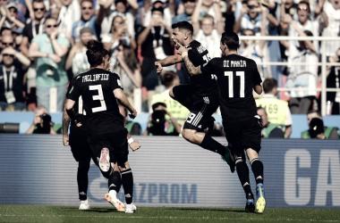 Argentina empata frente a una Islandia que hace historia en su debut mundialista